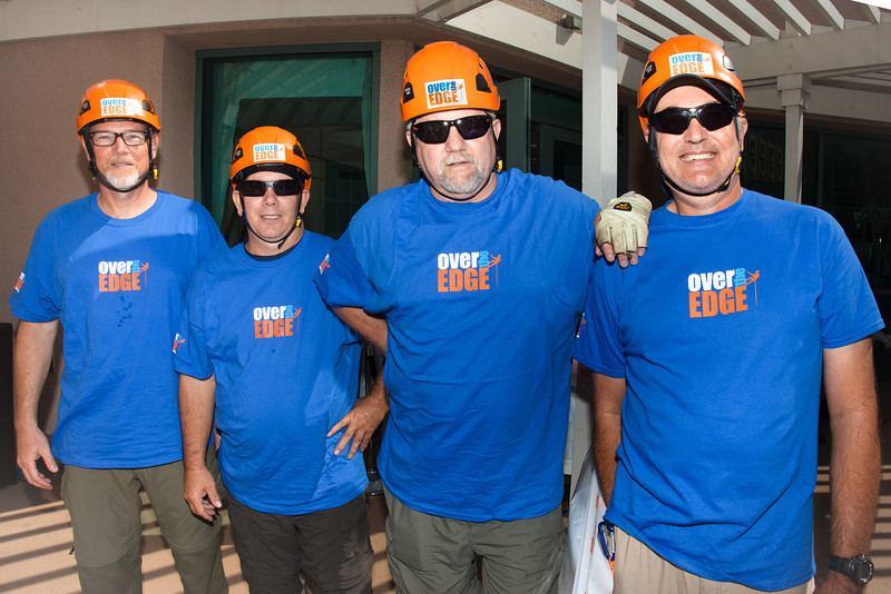 """Over the Edge"" Rappelling with Autism Speaks - Renaissance Airport Hotel - Los Angeles CA - by Takahiro Watanbe"